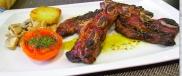 Churrasco de ternera, Piscolabis Gastrobar, Mora d'Ebre